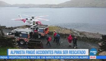 Extra Extra: Alpinista finge accidentes para ser rescatado