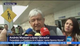 AMLO Regresa Veracruz Andrés Manuel López Obrador