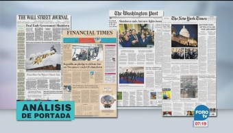 Análisis de las portadas nacionales e internacionales