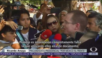 Meade habla de López Obrador y Anaya