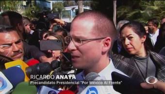Anaya Habla Incorporación Panistas Equipo Meade
