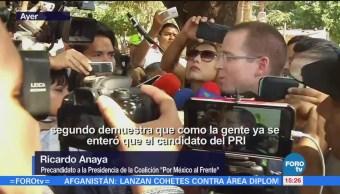 Anaya Promete Apoyos Tres Principales Ejes
