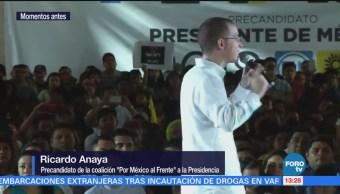 Anaya realiza actividades en Cancún