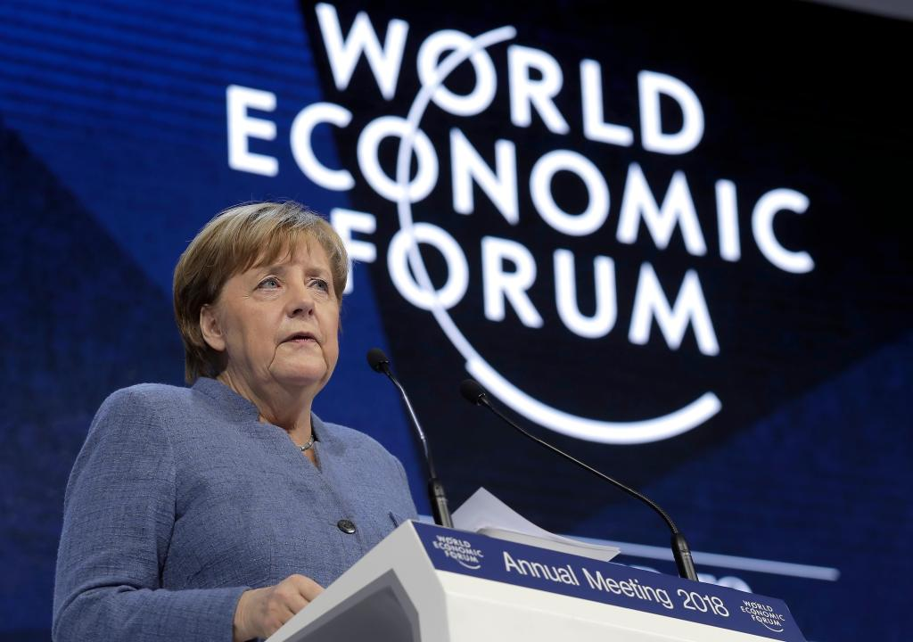Francia está de vuelta, dice Emmanuel Macron Foro Económico Mundial