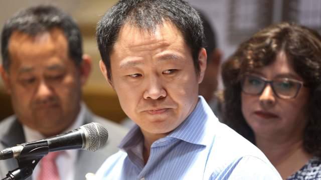 Congresistas peruanos liderados por Kenji Fujimori renuncian a bancada Fuerza Popular