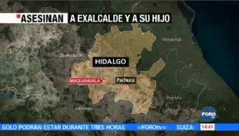 Asesinan Exalcalde Mixquiahuala, Hidalgo