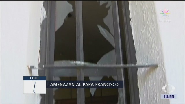 Atacan iglesias en Chile, días antes de la visita papal