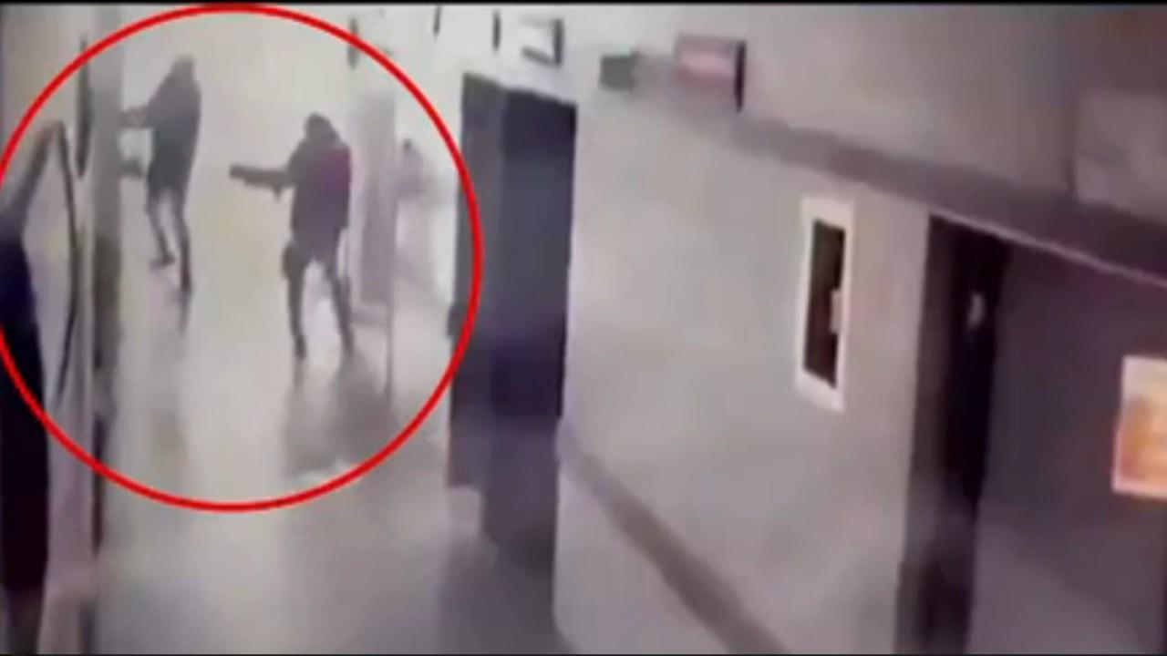 difunden imagenes del ataque de hombres armados en hospital de guanajuato