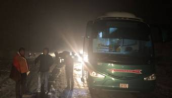 reabren autopista carretera mexico toluca granizada