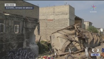 Autoridades pagarán gastos funerarios de víctimas de accidente en Ecatepec