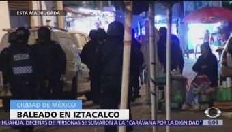 Baile en Iztacalco, CDMX, concluye con un muerto y un herido