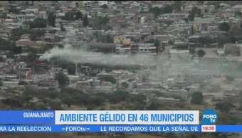 Bajas Temperaturas Afectan 46 Municipios Guanajuato