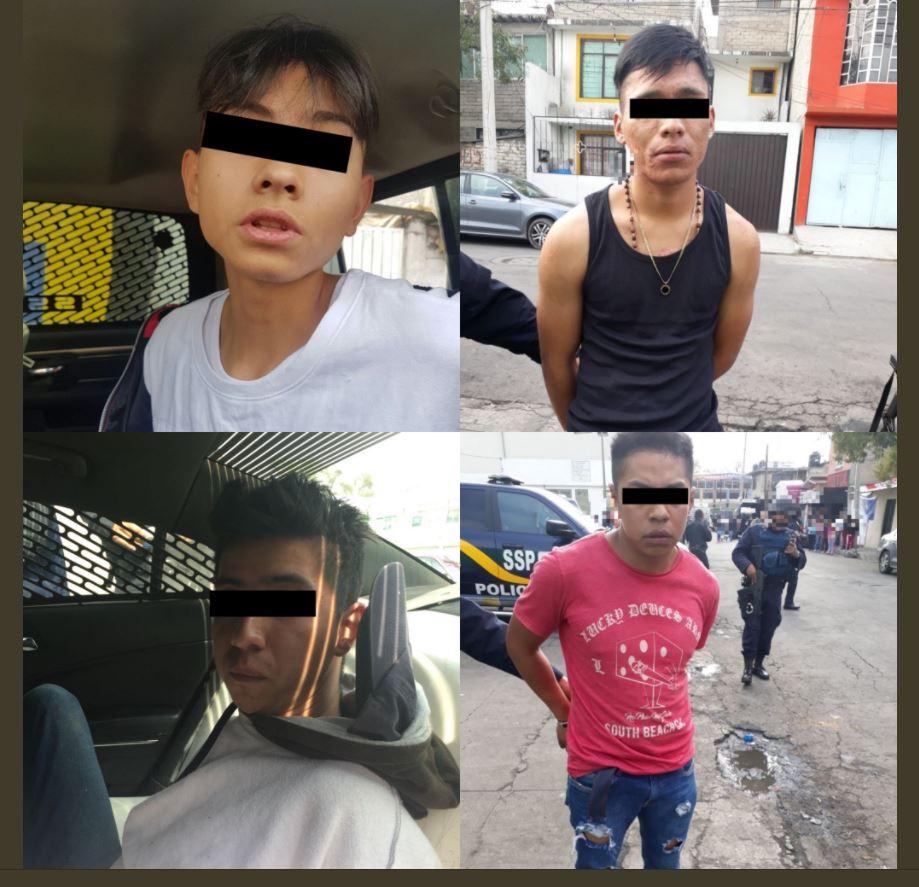 SSP-CDMX desmantela banda dedicada al robo de tiendas departamentales