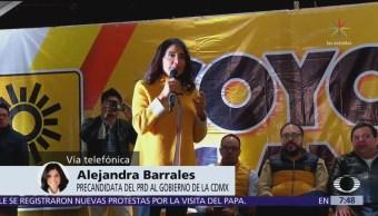 Barrales asegura que 'no hubo candidatura en automático' en su coalición