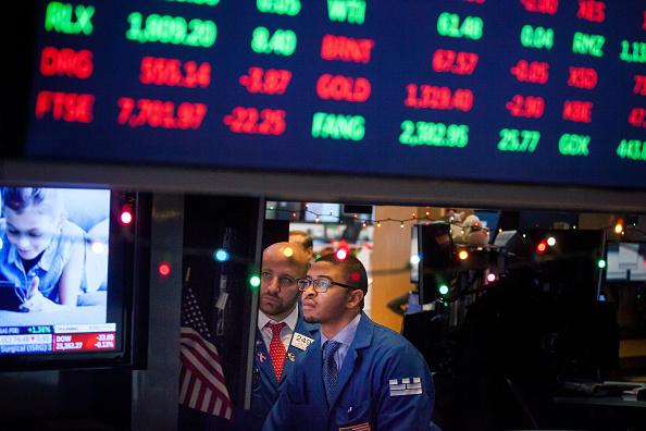 Primer traspié del año en Wall Street