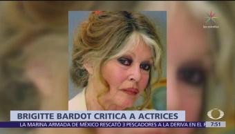 Brigitte Bardot: Hay actrices que 'calientan' a productores y luego denuncian acoso