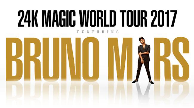 Bruno Mars en México.