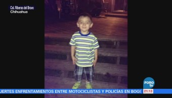 Buscan a niño autista desaparecido en Chihuahua
