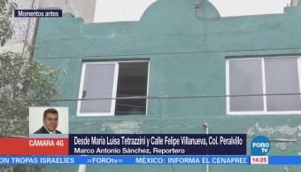 Caída de plafón deja dos lesionados en la colonia Peralvillo, CDMX