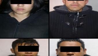 detienen 6 presuntos ladrones cdmx apoyo camaras c2