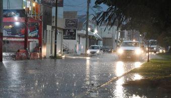 Frente frío 22 provoca bajas temperaturas y lluvias en Campeche