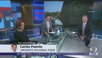 Carlos Puente, líder nacional del Partido Verde, en Despierta con Loret