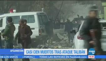 Casi 100 muertos tras ataque talibán en Afganistán