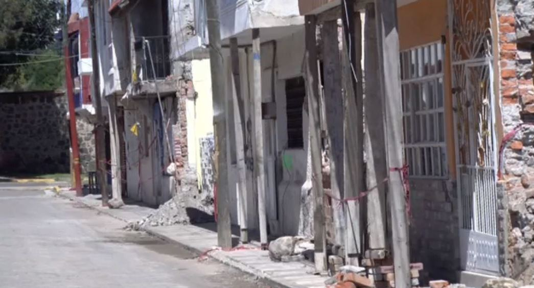 Al menos 30 inmuebles en Puebla continúan sin evaluar tras el sismo