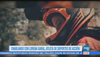 Charlando con Lorena Garal, campeona de motocross