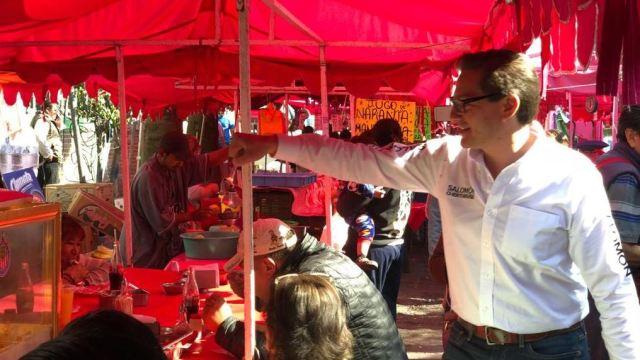 Chertorivski se reúne con comerciantes de la GAM