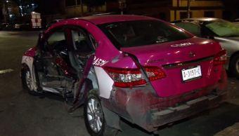 Choque en Azcapotzalco deja una mujer muerta