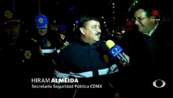 Música Baile Gran Festejo Ciudad México Recibió Año Nuevo 2018