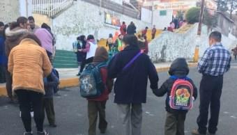 suspenden clases frio 5 delegaciones cdmx