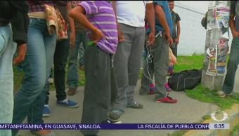 CNDH denuncia violación de derechos humanos a migrantes