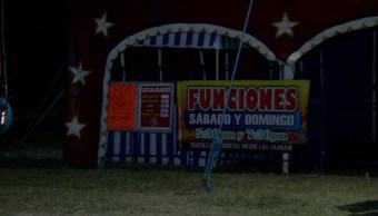 Suman 6 heridos tras caída de gradas en circo de Tonalá, Jalisco