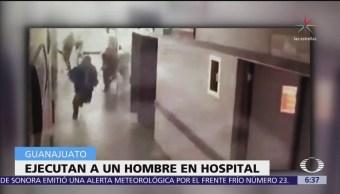 Comando armado asesina a paciente en el hospital general de Salvatierra, Guanajuato
