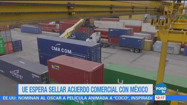 Comisión Europea espera concluir el TLC con México antes de campañas electorales