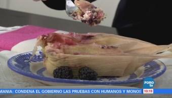 Cómo preparar tamales de choco-avellana