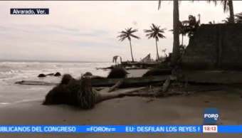Comunidades Afectadas Fenómenos Meteorológicos Alvarado Veracruz