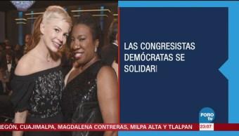 Congresistas Visten Negro Contra Acoso Sexual