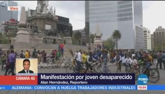 Continúan Cerrados Carriles Centrales Paseo Reforma Manifestación