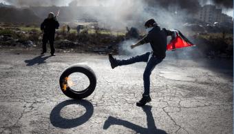 Continúan las protestas palestinas contra Estados Unidos. (AP, archivo)