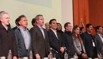 Gobernadores del PAN dan apoyo unánime al de Chihuahua. Damián Zepeda