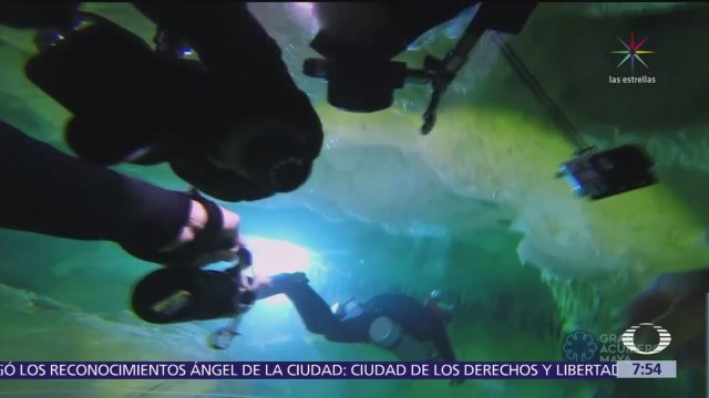 Descubren la cueva inundada más grande del mundo