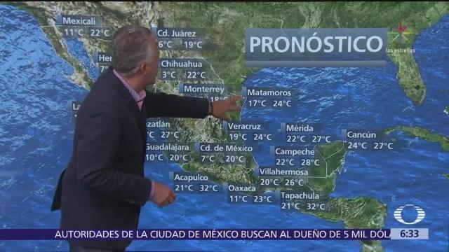 Despierta con Tiempo: Continúan lluvias y bajas temperaturas en México