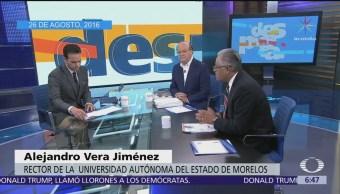 Despierta recuerda debate entre Alejandro Vera y Graco Ramírez