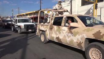 Despliegan fuerzas federales en la sierra de Chihuahua