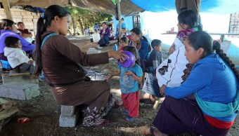 desplazados por conflicto agrario en chiapas regresan a sus comunidades
