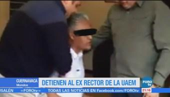Detienen Alejandro Veraexrector Uaem