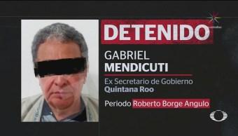 Detienen Gabriel Mendicuti, Exfuncionario Roberto Borge